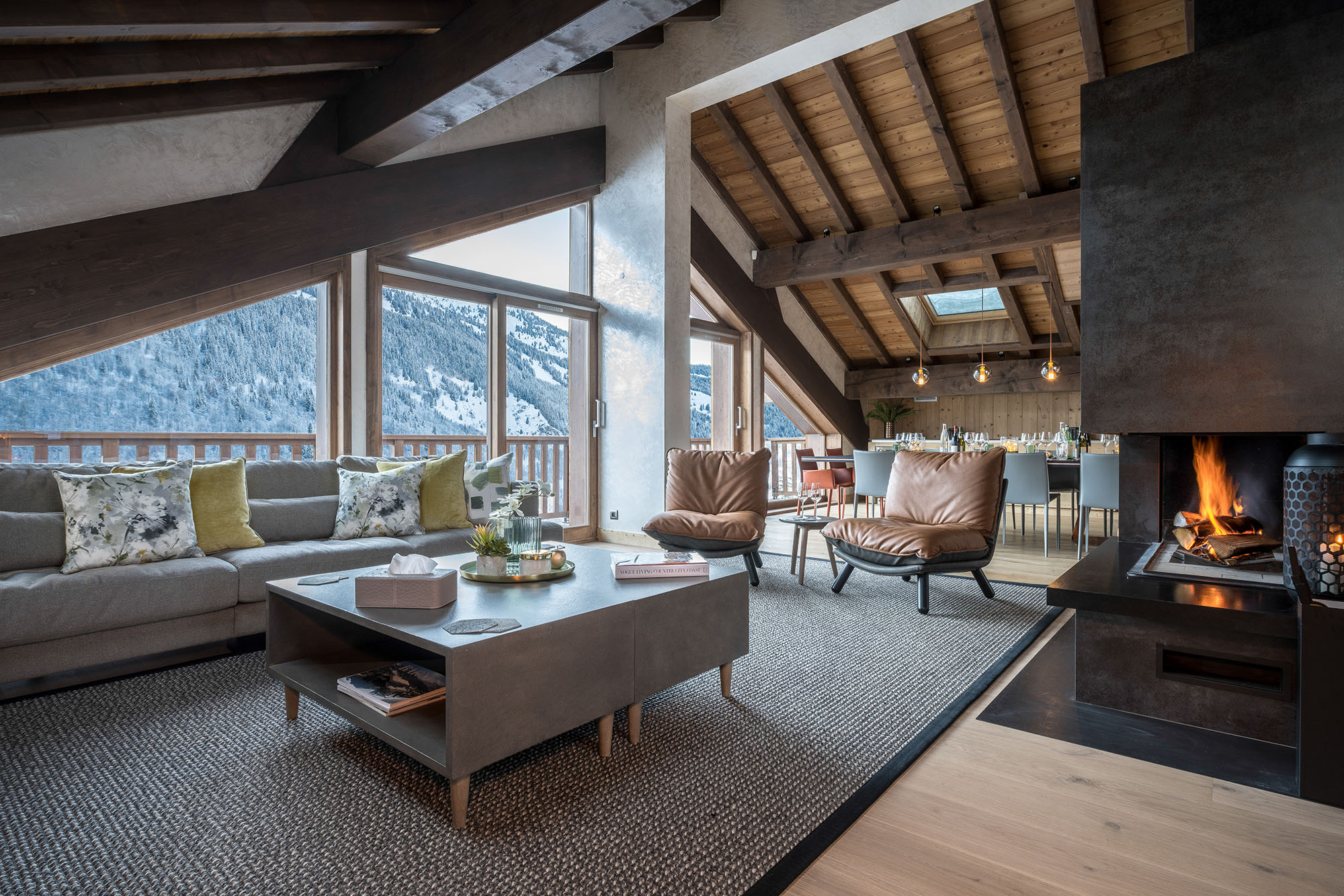 Meribel luxury chalet