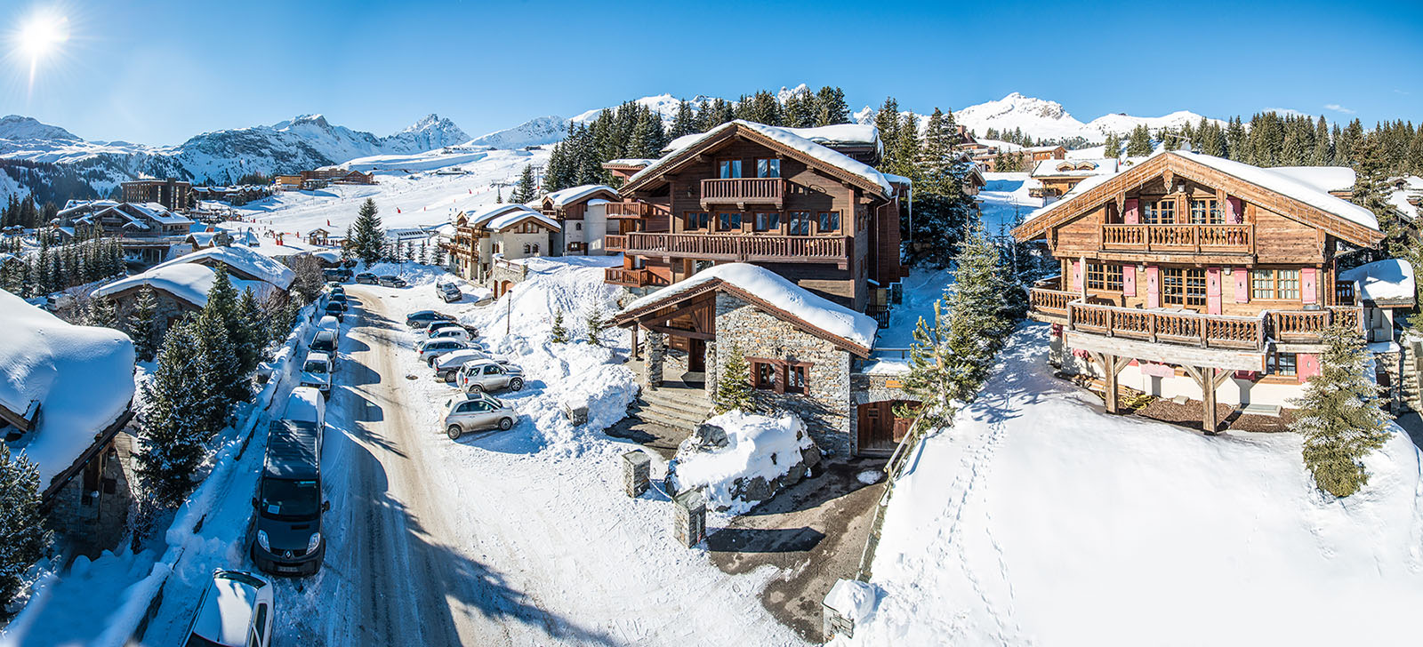 Courchevel, ski resort